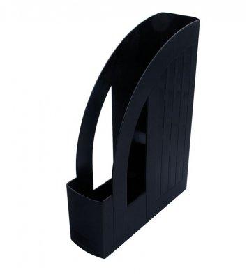 Лоток вертикальний пластиковий чорний непрозорий, Arnika