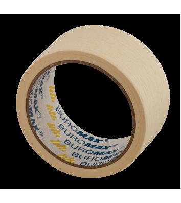 Стрічка клейка 48мм*20м малярна біла, Buromax
