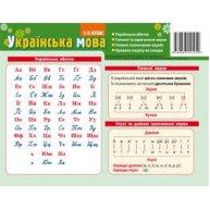 Карточка-подсказка Алфавит, украинский язык 1-2 класс, Зірка