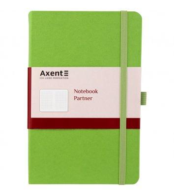 Діловий записник А5 96арк клітинка Partner салатовий, Axent