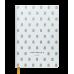 Діловий записник клітинка А5 Relax білий, Buromax