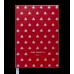 Діловий записник клітинка А5 Relax червоний, Buromax