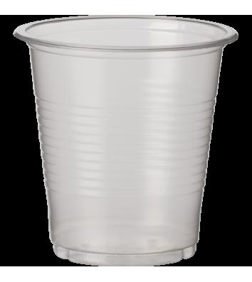 Стаканы одноразовые пластиковые 180мл 100шт, прозрачные