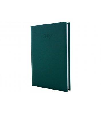 Ежедневник датированный А5 2019 Capys темно-зеленый, Economix