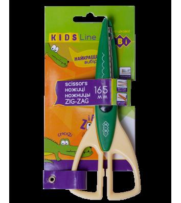 """Ножиці дитячі 16,5см з фігурними лезами для аплікацій """"Зіг-заг"""", Zibi"""