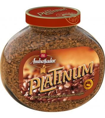 Кава розчинна Ambassador Platinum 190г
