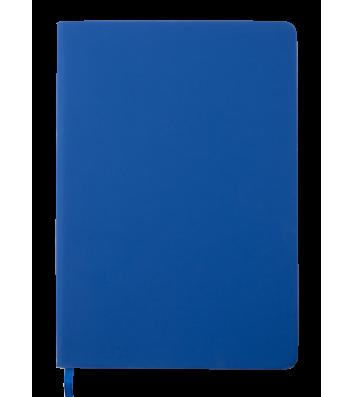 Деловой блокнот A5 96л клетка Touch Me темно-синий, Buromax
