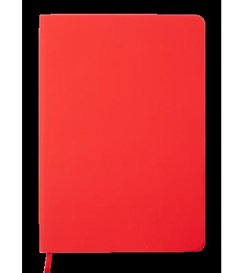Діловий записник клітинка А5 Touch червоний, Buromax