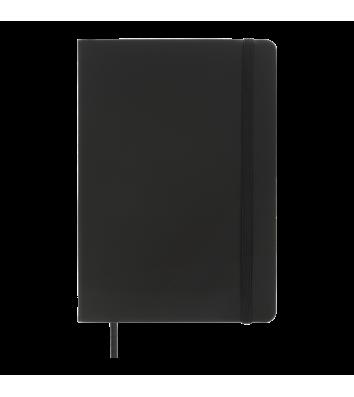 Діловий записник клітинка А5 Touch чорний, Buromax