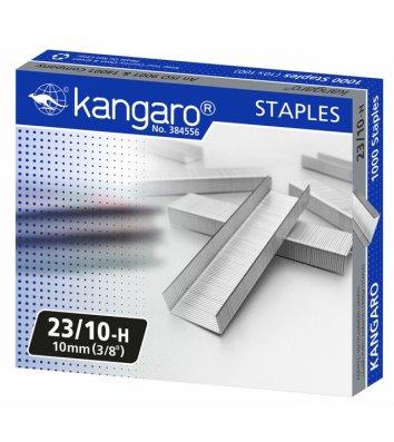 Скобы для степлера №23/10 1000шт, Kangaro
