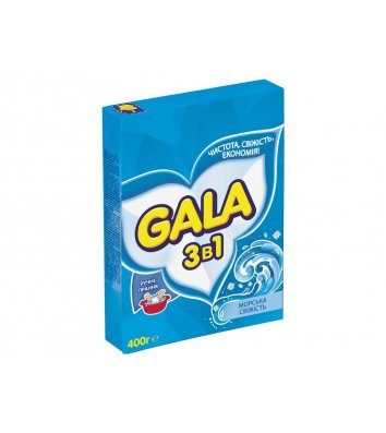 Средство для стирки Gala 400г автомат, морская свежесть