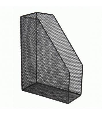 Лоток вертикальный металлический черный, Buromax