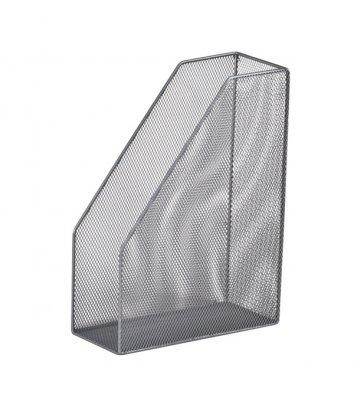 Лоток вертикальный металлический серебристый, Buromax