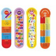 """Закладинки пластикові для книг 4шт """"Education"""", Cool for School"""