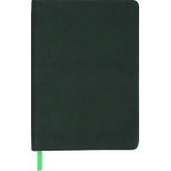 Ежедневник недатированный A5 Amazonia зеленый, Buromax
