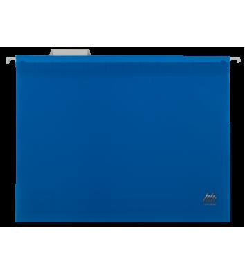 Файл подвесной А4 пластиковый синий, Buromax