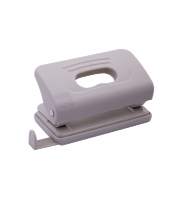 Діркопробивач  10арк корпус пластиковий Rubber Touch колір cірий, Buromax