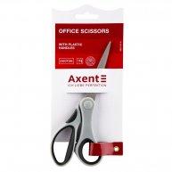 Ножиці 18см ручки з гумовими вставками Duoton, Axent