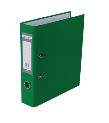 Папка-реєстратор А4 70мм одностороння зелена Lux, Buromax