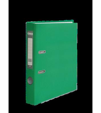 Папка-реєстратор А4 50мм одностороння зелена Lux, Buromax