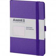 Діловий записник А5 96арк в крапку Partner фіолетовий, Axent