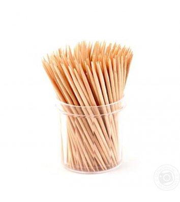 Зубочистки в пластиковому тубусі 250шт бамбукові