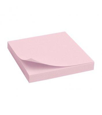Стикеры 75*100мм 100л розовые, Economix
