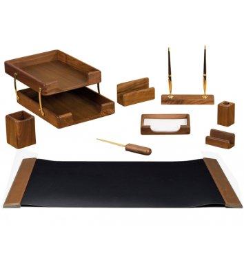 Набір настільний  9 предметів дерев'яний, Bestar