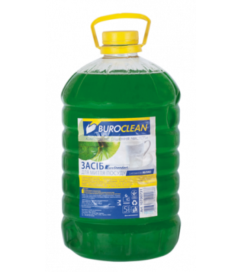 Средство для мытья посуды BuroClean EuroStandart  5л, зеленое яблоко