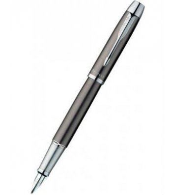 Ручка перова Parker IM Gun Metal GT FP F