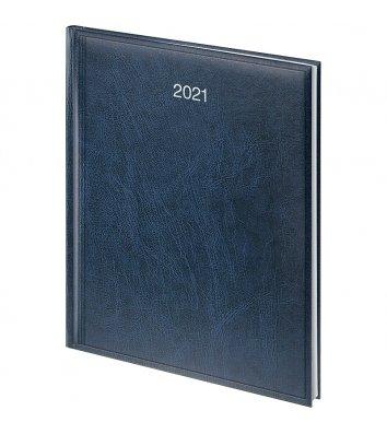 Щотижневик датований А4 2021 Бюро Miradur синій, Brunnen