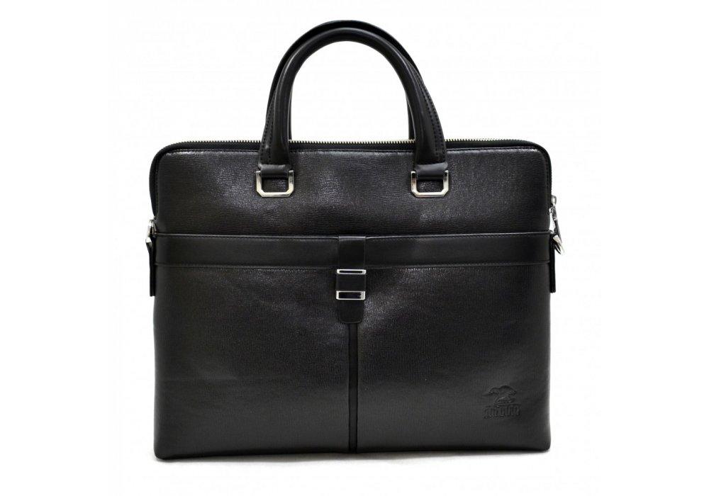 b2f7739d300a Портфель мужской из искусственной кожи черный 6831, Bonis купить в ...