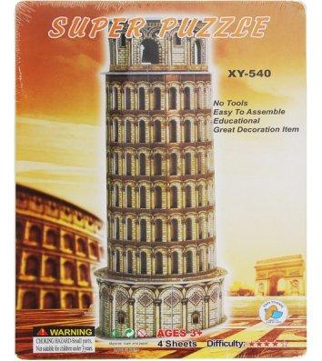 """Пазлы 3D объемные """"Пизанская башня"""""""