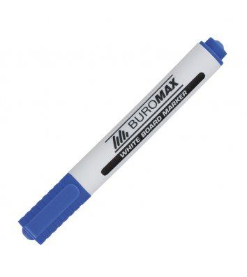 Маркер для досок, цвет чернил синий 2-4мм, Buromax