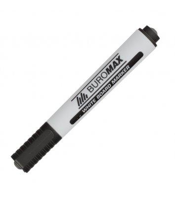 Маркер для дошок, колір чорнил чорний 2-4мм, Buromax