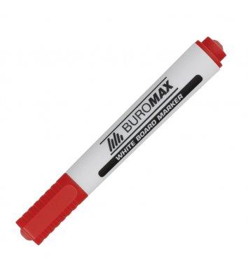 Маркер для дошок, колір чорнил червоний 2-4мм, Buromax