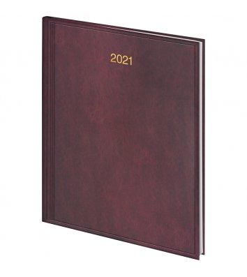 Ежедневник датированный A5 2020 Tweed желтый, Brunnen