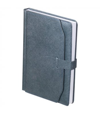 Щоденник недатований А5 Credo сірий, Buromax