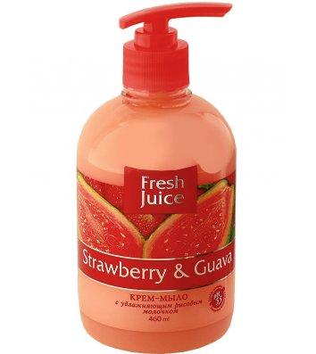Мило рідке 460мл Fresh Juice Полуниця і Гуава