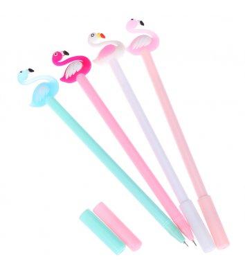 """Ручка детская гелевая """"Фламинго"""""""