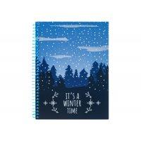 """Блокнот А5 60арк клітинка """"Christmas: Winter Time"""""""