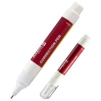 Коректор-ручка  8мл з металевим кінчиком, Delta by Axent