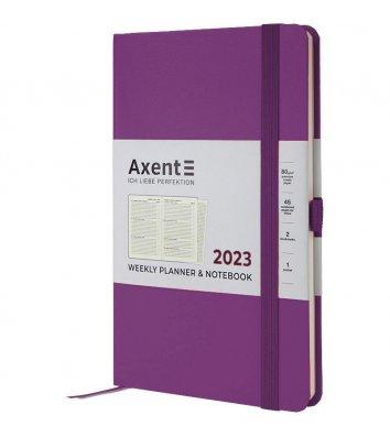 Щотижневик датований 2021 Pocket Strong 90*150мм темно-синій, Axent