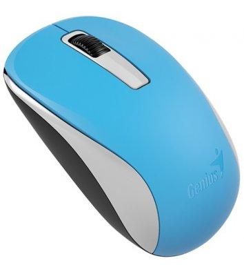 Миша комп'ютерна бездротова блакитна, Genius NX-7005