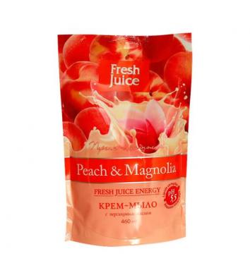 Мыло жидкое 460мл Fresh Juice пакет Peach