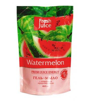 Мыло жидкое 460мл Fresh Juice пакет Watermelon