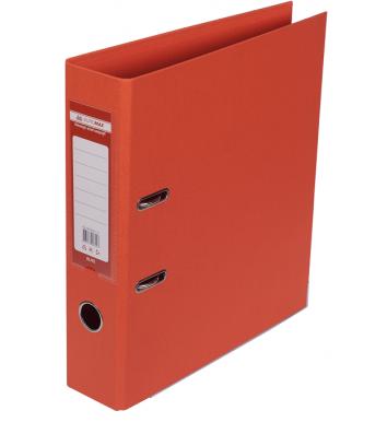 Папка-реєстратор А4 70мм двостороння помаранчева Elite, Buromax