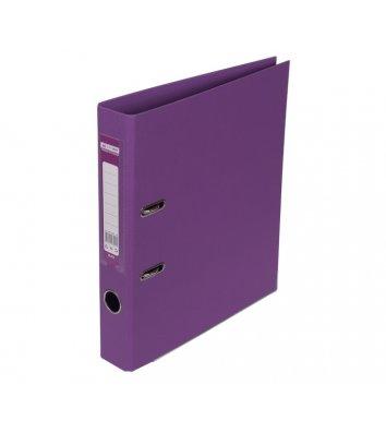 Папка-реєстратор А4 50мм двостороння фіолетова Elite, Buromax