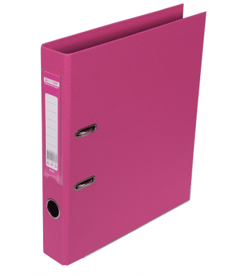 Папка-реєстратор А4 50мм двостороння рожева Elite, Buromax