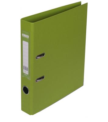 Папка-реєстратор А4 50мм двостороння світло-зелена Elite, Buromax